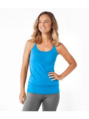 Μπλούζα από Οργανικό Βαμβάκι με τιράντες Μπλούζες Yoga και Pilates