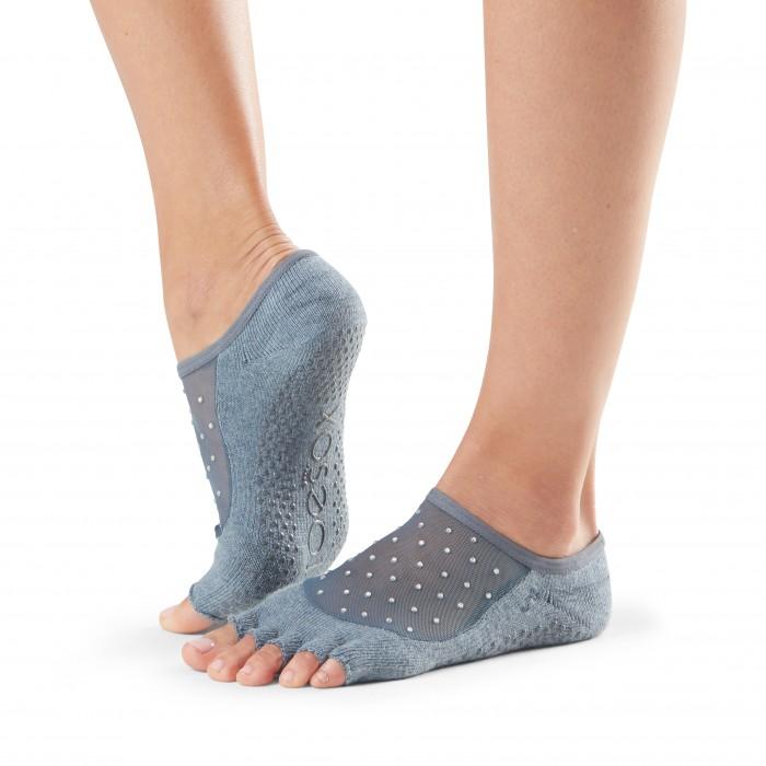 ToeSox Half Toe Luna | Αντιολισθητικές κάλτσες Luna με κομμένα δάκτυλα