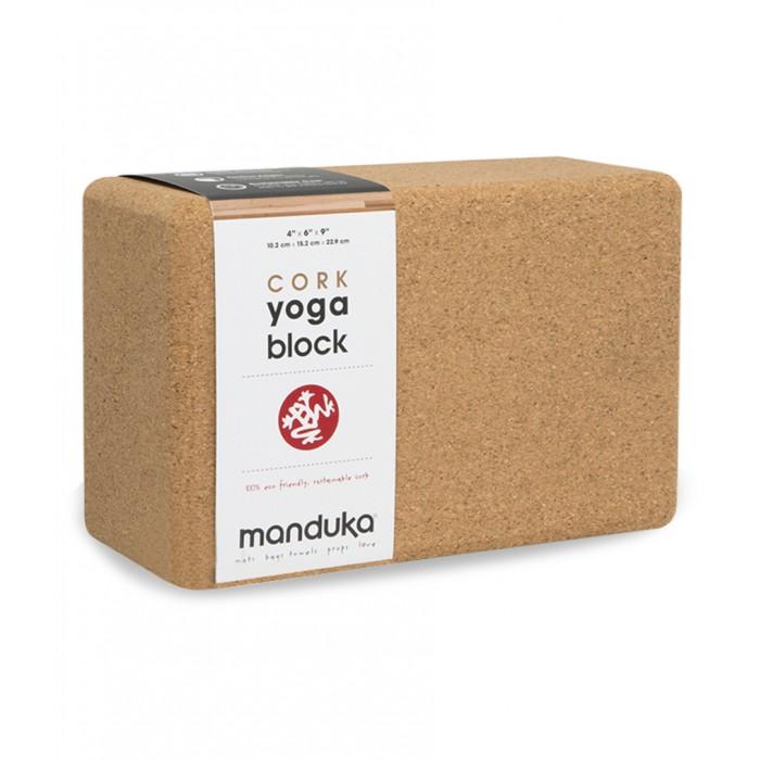 Τουβλάκι Manduka από φελλό Τουβλάκια