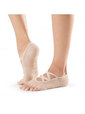 ToeSox Half Toe Elle  | Αντιολισθητικές κάλτσες Elle με δάκτυλα